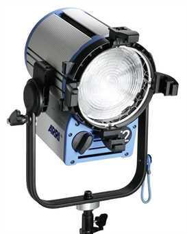 Halogen spotlights - ARRI True Blue T5 manual, blue/silver, bare ends