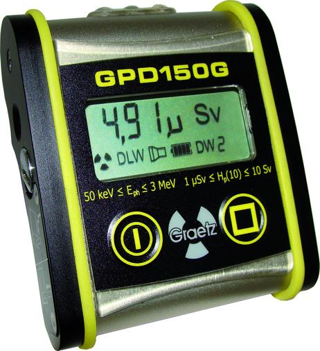 GPD150G - elektronisches Personendosimeter