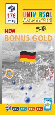 BONUS GOLD Waschmittel in 25 kg - Reinigung - Pflege
