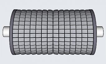 Spreader Rollers - Type BR (Basic Roller) - Type BR 100/130
