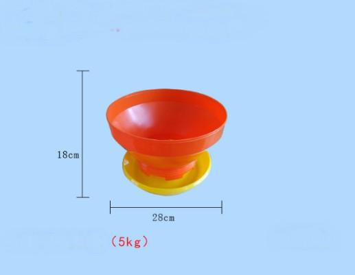 5kg Volume poutry/chicks/duck/goose feeder pan