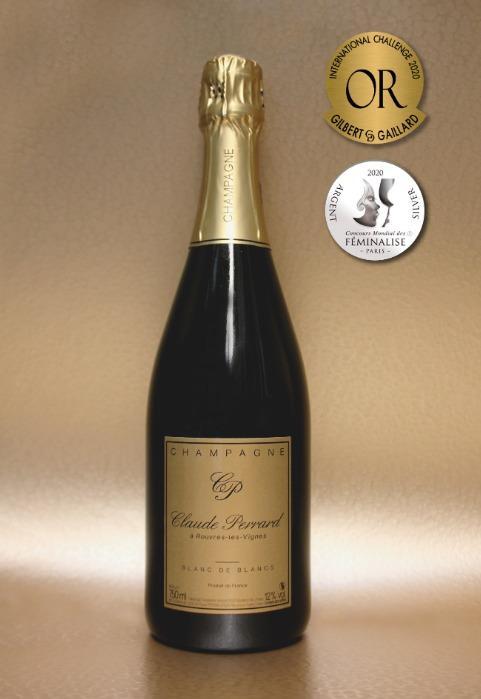 Champagne Claude PERRARD Brut Blanc de Blancs -