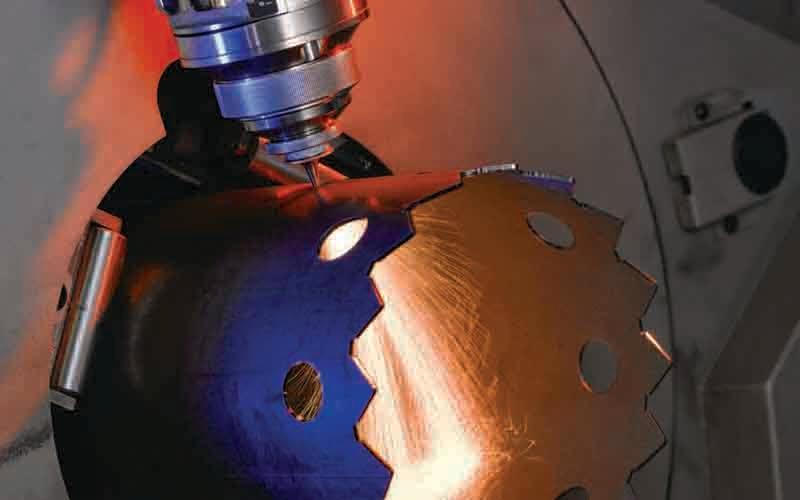 Tube laser cutting -
