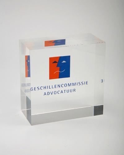 Trophées & tombstones en Plexiglas  - Trophée type: Award bloc 6