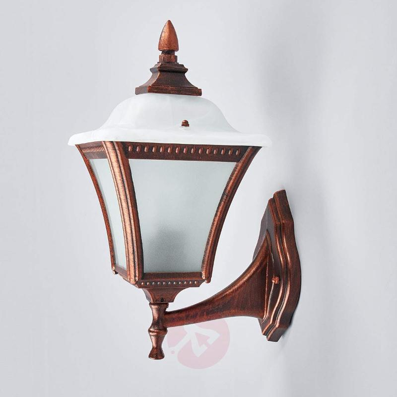 CHARME Upwards Reaching Exterior Wall Lamp - Outdoor Wall Lights