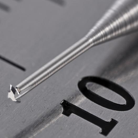 VHM Gewindewirbler 3-rillig metrisch - null