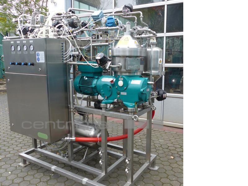 GEA Westfalia Separator Self-cleaning disc centrifuge - CSA 8-06-476