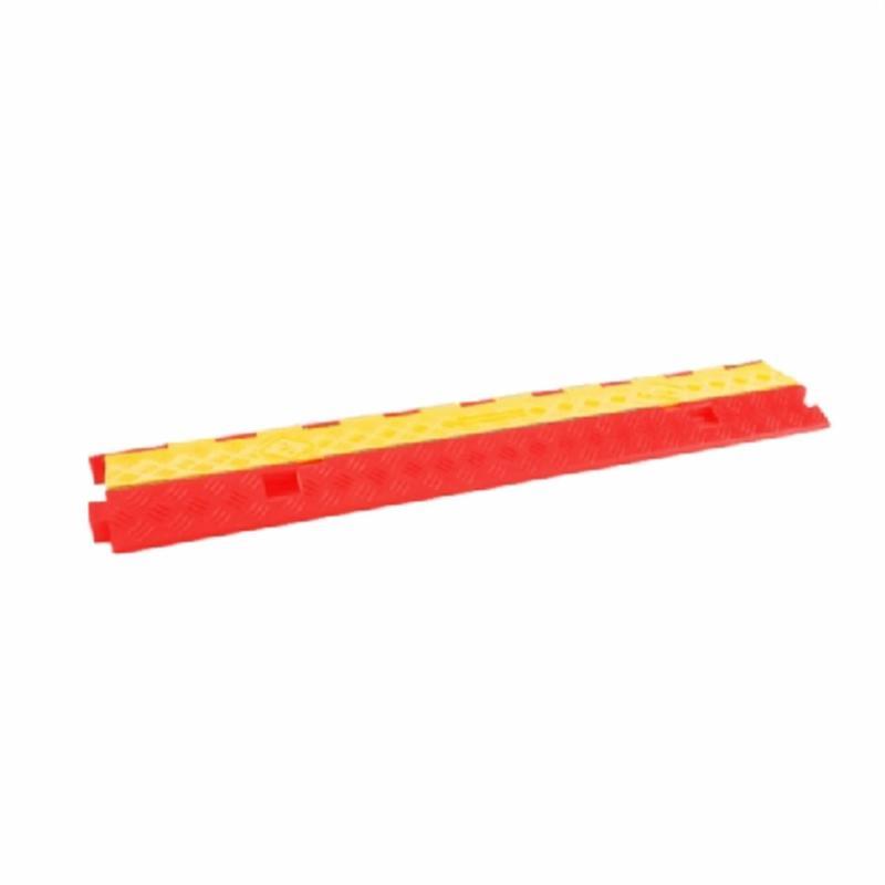 Kabelbrug 2 Kanälen rot 980x255x45mm - Kabelschutz
