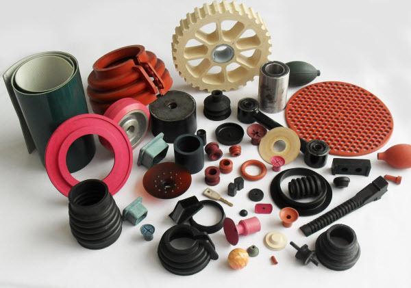Custom molded rubber parts -