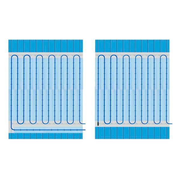 Sistema caliente de madera cálido, cálido y fácil - sistema de calefacción de madera