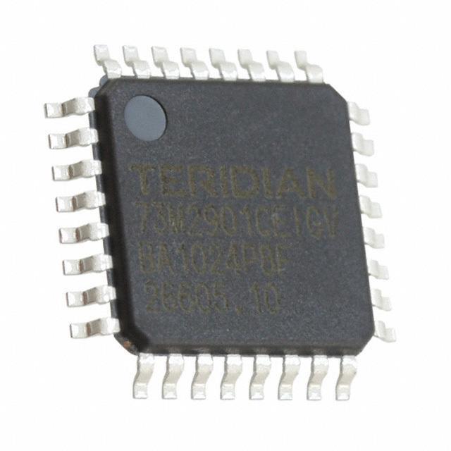 IC MODEM 3.3V V.22BIS 32-TQFP - Maxim Integrated 73M2901CE-IGV/F