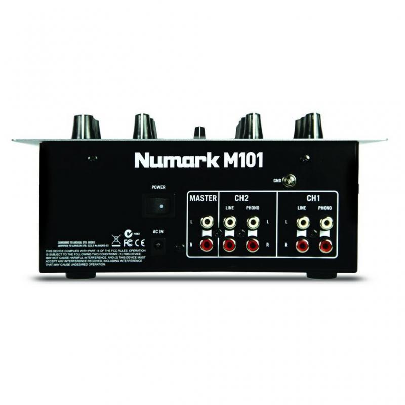 DJ-Mixer - Numark M101 Black