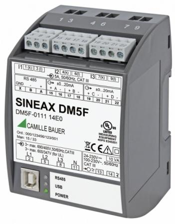 SINEAX DM5S/F - A classical high-accuracy transducer.