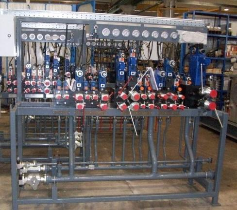 Valve Bench for Hydraulic Power Station - Hydraulic & Auxiliary Systems