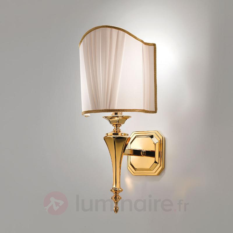 Applique luxueuse Belle Époque dorée - Appliques en tissu