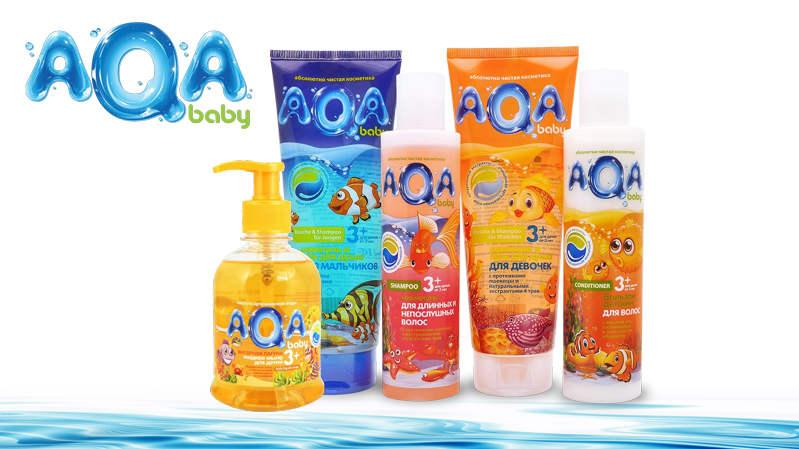 AQA kids — absolutely pure cosmetics for kids 3+ -