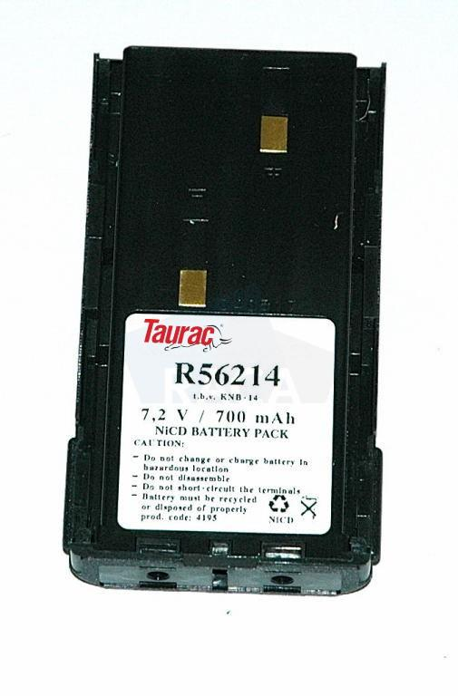 Replacement two-way radio battery for Kenwood TK260 / TK270