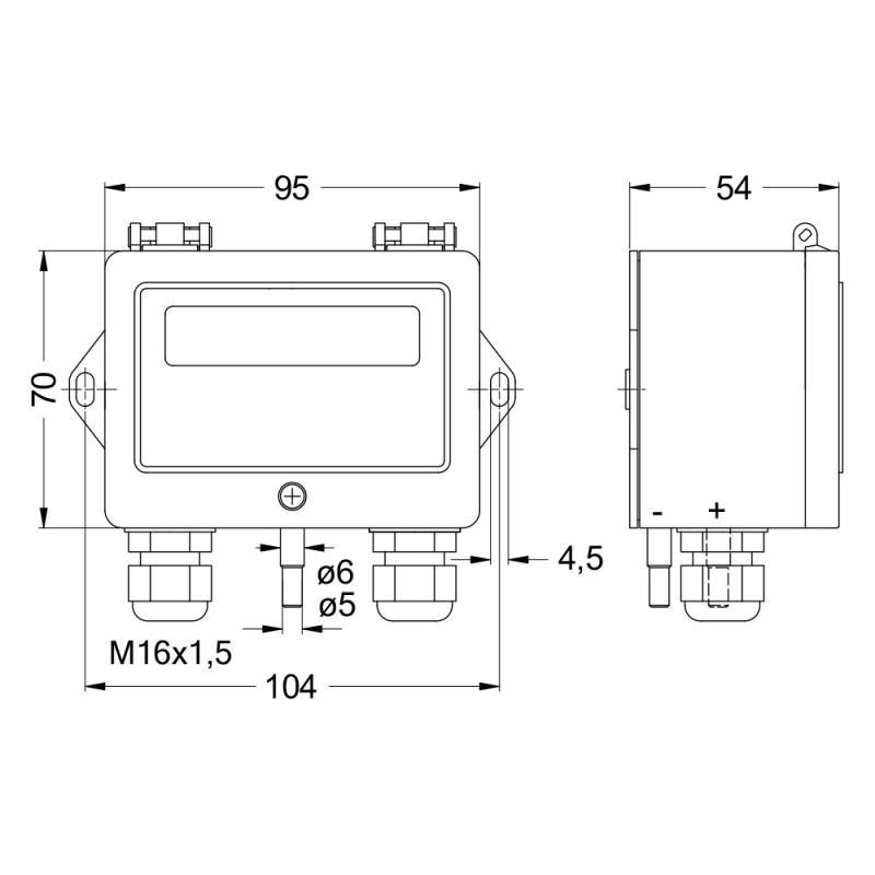 Grillo - Differenzdrucksteuermodul - DPC200 - Differenzdruck- / Volumenstromregler DPC200 - Grillo