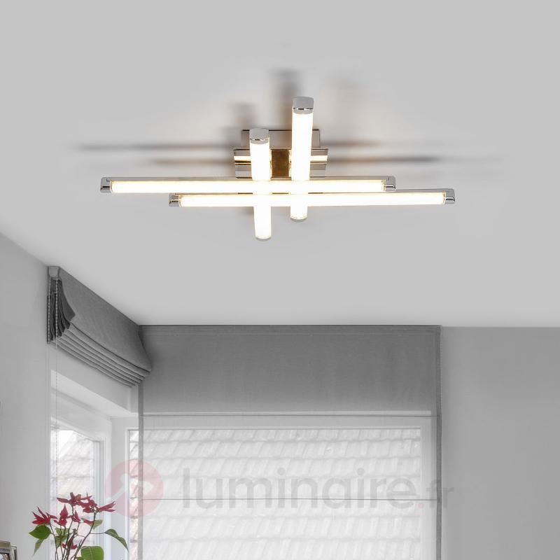 Plafonnier LED Tilo avec effet de lumière - Plafonniers LED