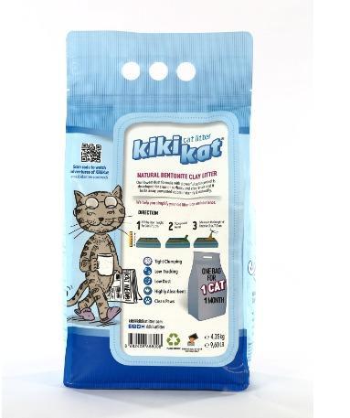 Bentonite cat litter - Clumping cat litter