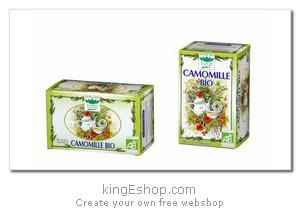 Tisane Bio Camomille Romon Nature - Référence : CAMOMILLE