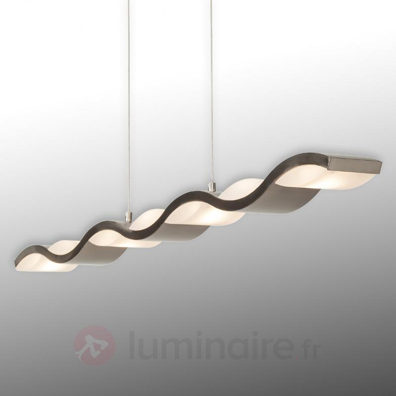 Liquid - suspension LED de forme ondulée, variable - Suspensions LED