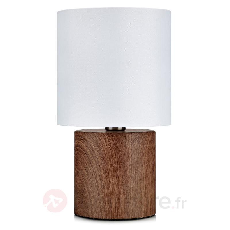 Élégante lampe à poser Gothia - Lampes à poser en tissu