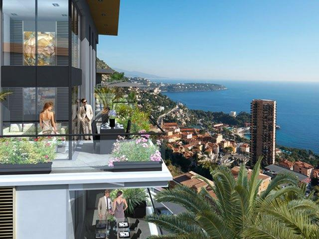 Luxury new apartments in Beausoleil for sale - Real Estate