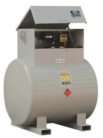 CUVE-STATION RAVITAILLEMENT GASOIL / DIESTER 980 L -... - Cuves de stockage et stations de distribution de carburant