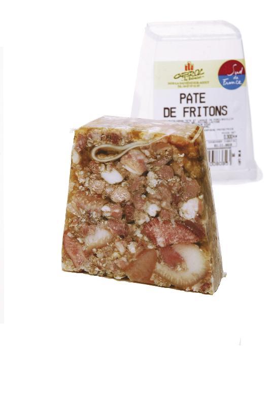 """Pâté de Fritons """"CUIT AU CHAUDRON DE CUIVRE"""" (POT... - Viande et volailles"""