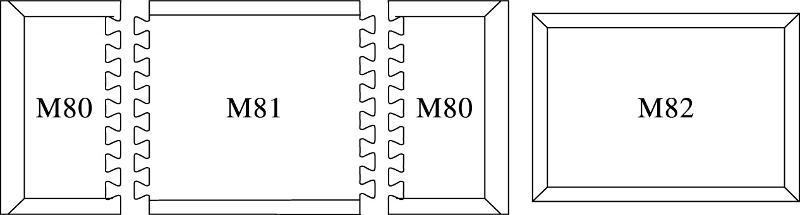 Tapis ergonomique connectable - MBK82 - MPB82 - Tapis antifatigue et ergonomiques