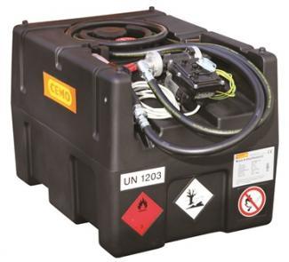 Cuve-station Ravitaillement Essence 190 L / 12v - CSP190 ES12V-Cuves et stations de distribution essence