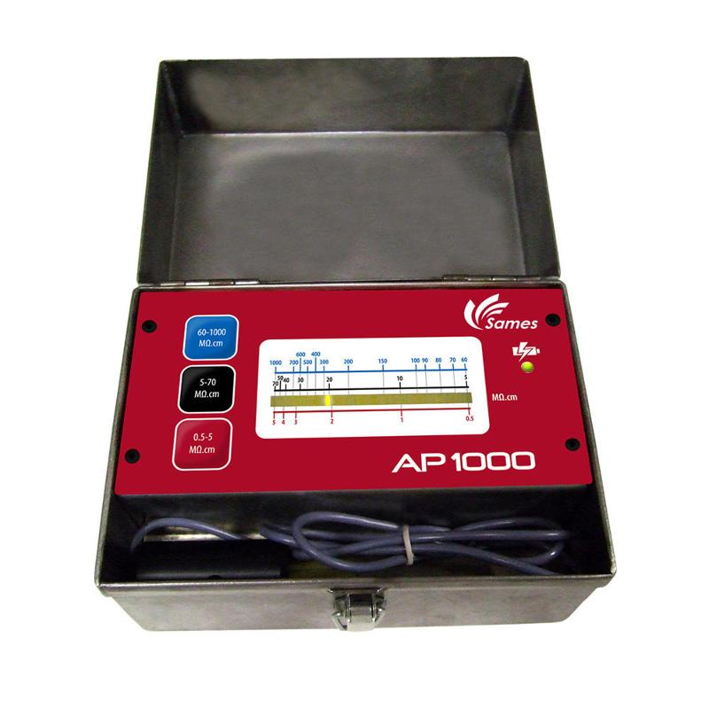 appareil de mesure de la résistivité des peintures - AP 1000