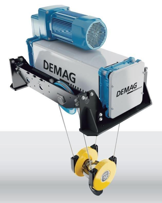 Paranco a fune Demag DMR - Demag DMR: Un paranco a fune. Due forme costruttive. Per tutte le applicazioni.