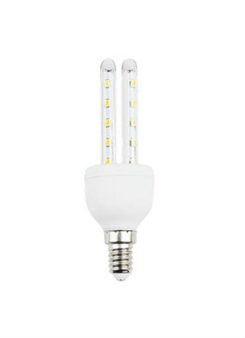 Lampadine LED E14 a tubo T3 - 4/6W trasparente 3000/6400K 300/320/450/480lm