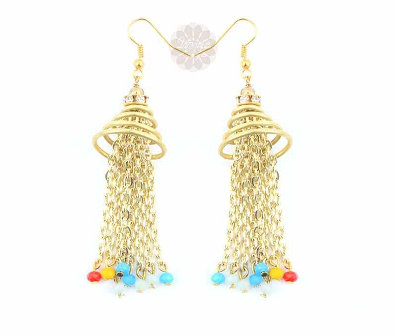 Perky Chain Earrings -