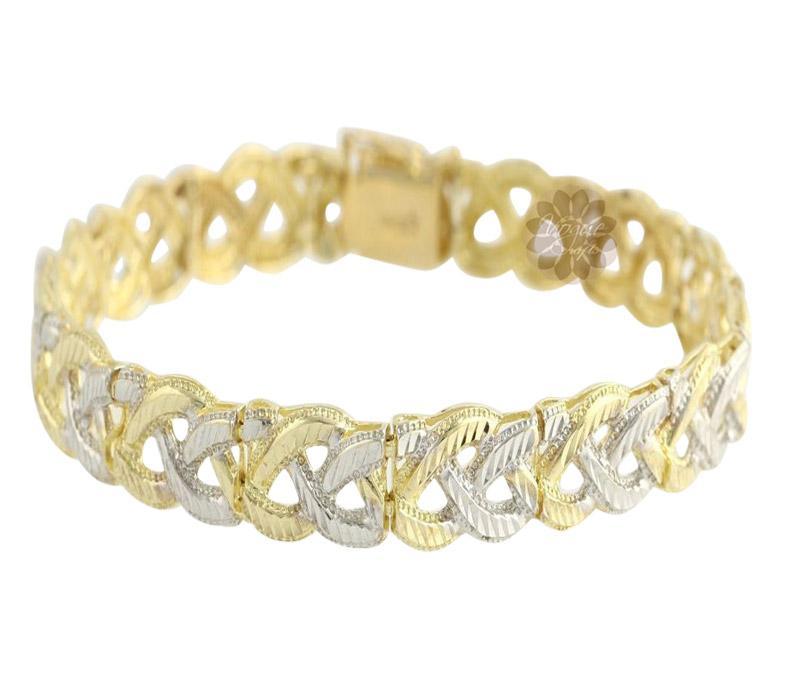 Braided Gold Bracelet -