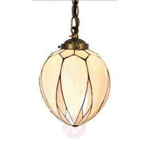 Enchanting hanging lamp Santo in the Tiffany style - Pendant Lighting