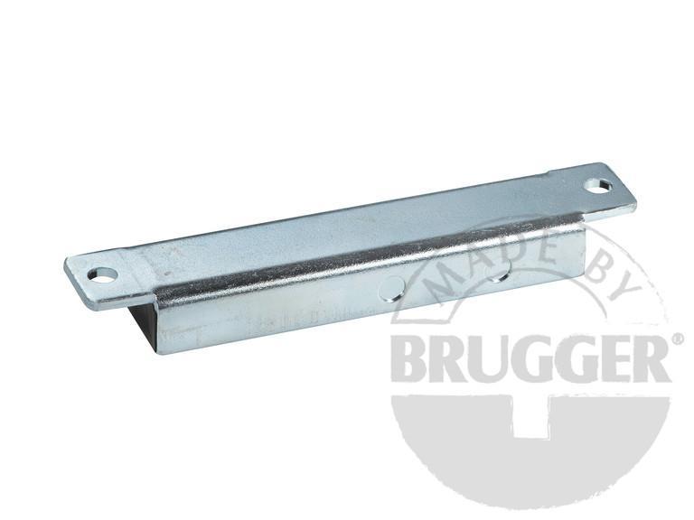 Magnetic ledges, hard ferrite, metal body, galvanized - null