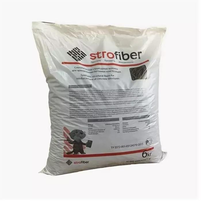 Макрофибра STROFIBER - Полипропиленовые структурные волокна для армирования бетонных конструкций