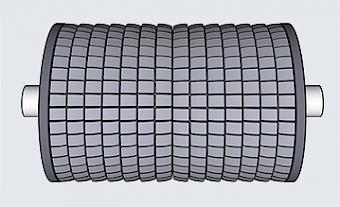 Spreader Rollers - Type BR (Basic Roller) - Type BR 120/150