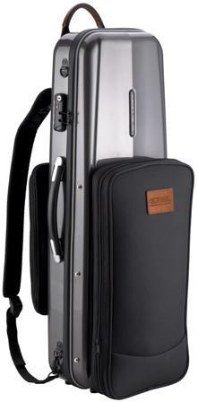 GLK-V(18) - Combi oblong violin case/ Grey