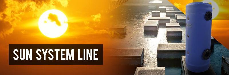 Buffer tanks & Calorifiers - Sun system line