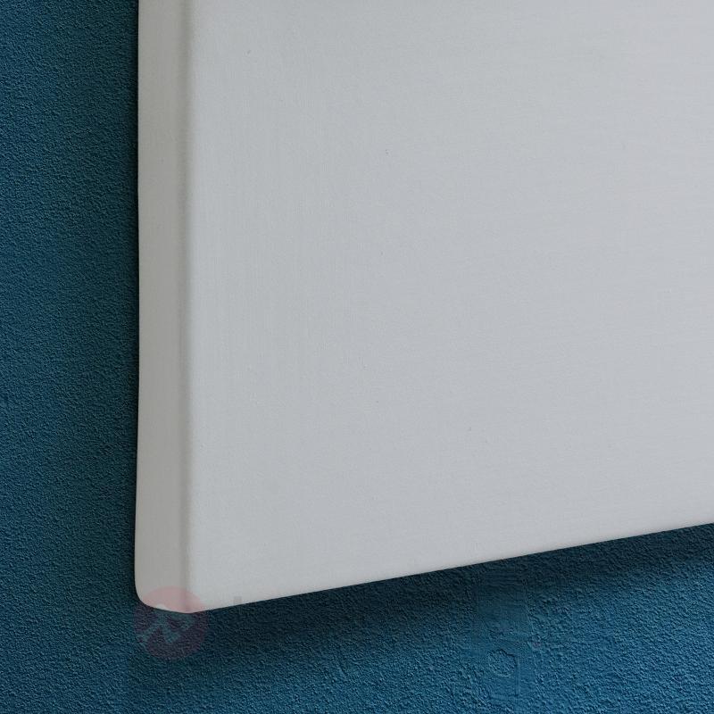 Applique Ilvy blanche, à personnaliser - Appliques en plâtre