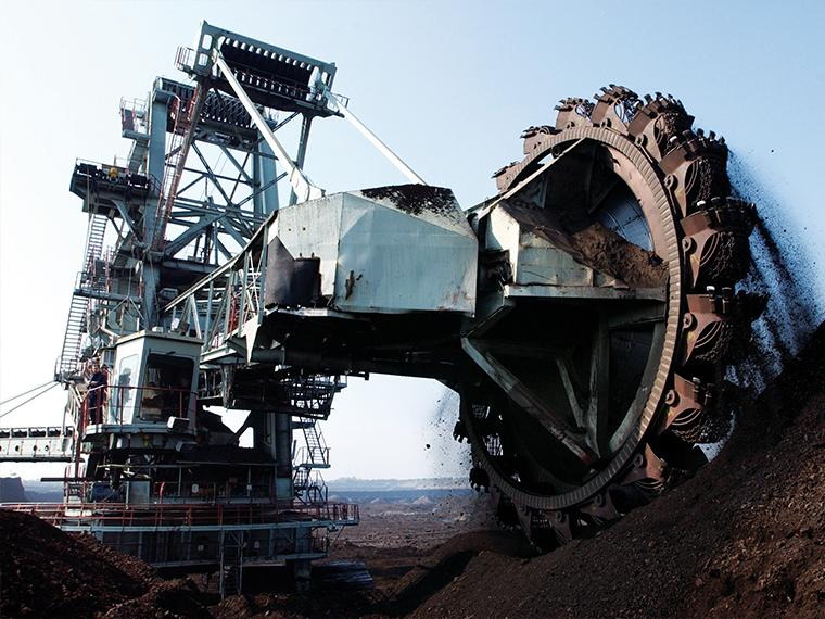 Bearings for mining industry - applications