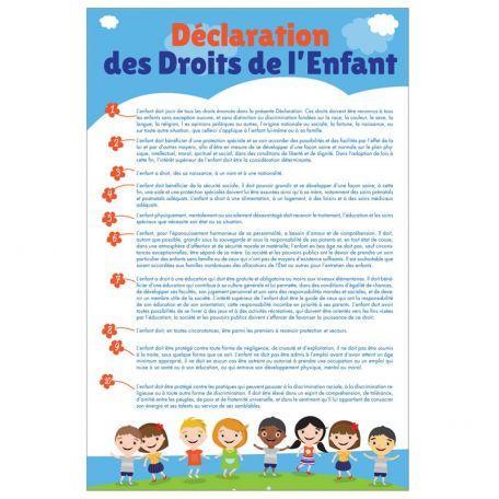 Déclaration Des Droits De L'enfant - Accessoires De Mairie