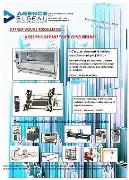 Machines aluminium pvc