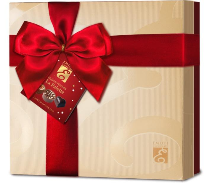 EMOTI Assorted Chocolates, Gift packed 215g. SKU: 013237rX/R -