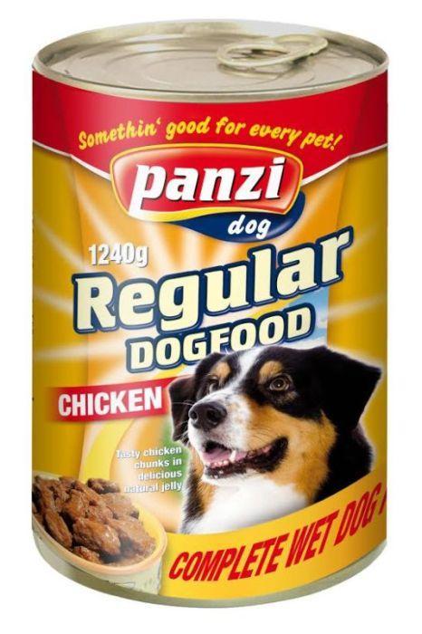 Консервы для собак с курицей, 415г - Жестяная банка