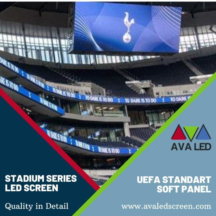 Ecrane de informații pentru tabloul de bord al stadionului - Informații de înaltă definiție Afișează AVA LED